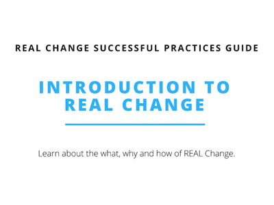 Introduction to Real Change